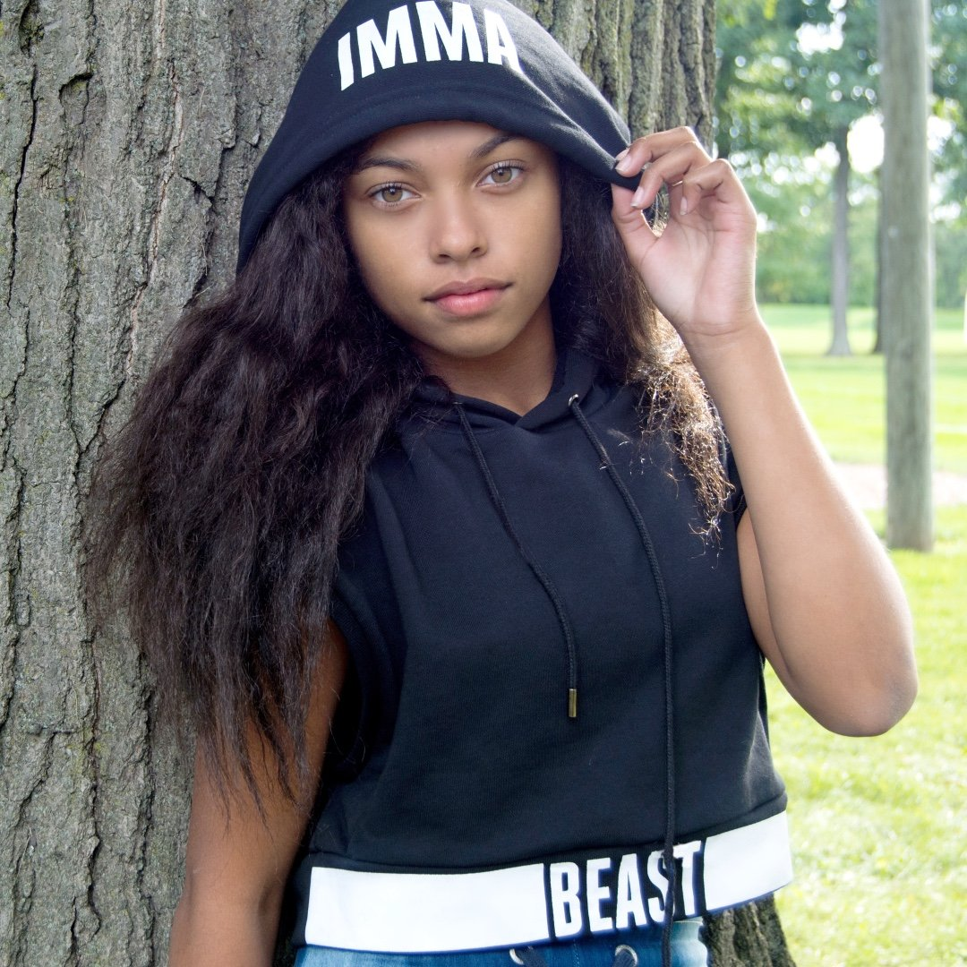 Angelnae is a model that appeared in Zay Hilfigerrr and Zayion McCall Juju On That Beat