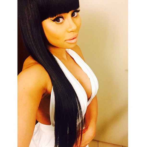 Blac Chyna is a model that appeared in Future Rich Sex
